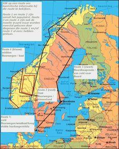 Noorwegen - Populaire autoroutes