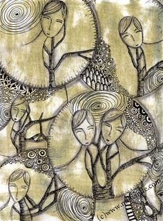 art journaling   Art Journal January Day 5, How to keep an Art Journal with Milliande