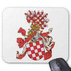 croatia, Austria Mouse Pad
