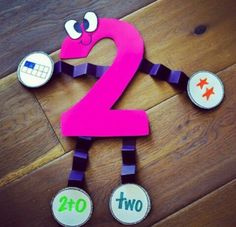 Can't wait to use these number crafts to assess number sense Teaching Numbers, Numbers Preschool, Math Numbers, Math Classroom, Kindergarten Math, Preschool Activities, Teaching Math, Number Sense Kindergarten, Number Activities