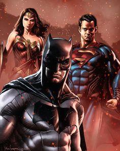 Justice League of America screenshots, images and pictures - Comic Vine Batman Vs Superman, Mundo Superman, Batman Comic Art, Batman Arkham, Batman Robin, Arte Dc Comics, Dc Comics Superheroes, Batman Comics, Bruce Timm