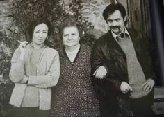 Alekos Panagulis con Oriana Fallaci e la madre di lei Tosca