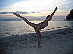 Sunset Dance - Created with BeFunky Photo Editor Photo Editor, Bikinis, Swimwear, My Photos, Dance, Explore, Sunset, Bathing Suits, Dancing