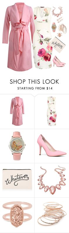 """""""Untitled #1441"""" by shemomjojo ❤ liked on Polyvore featuring ALDO, ALPHABET BAGS, Thalia Sodi, Kendra Scott and Red Camel"""
