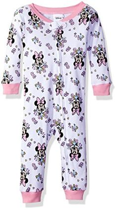 6f7c8b4fd2 Disney Baby Girls Infant Minnie Mouse Sleeper White 12M    Continue to the  product at
