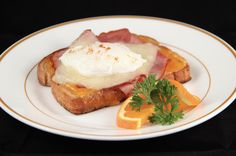 We created this delicious Monte Cristo Benedict in Hotel and Restaurant Management!  It is delicious, the recipe can be found here, http://allrecipes.com/recipe/232792/chef-johns-monte-cristo-benedict/ To learn more about our program visit, http://www.hcpss.org/academy/hotel-restaurant-management/