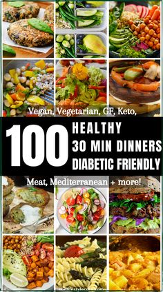 Easy Diabetic Meals, Diabetic Friendly Desserts, Diabetic Recipes For Dinner, Healthy Recipes For Diabetics, Diabetic Meal Plan, Diet Recipes, Diabetic Foods, Meal Plan For Diabetics, Vegetarian Diabetic Recipes