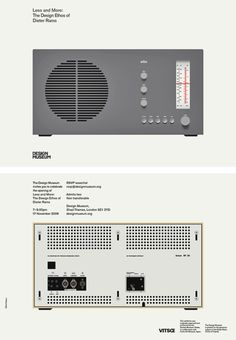 Ode to Dieter Rams