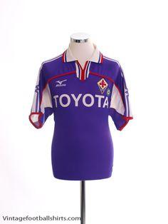 eb57b2a94 2001-02 Fiorentina Home Shirt M Vintage Football Shirts