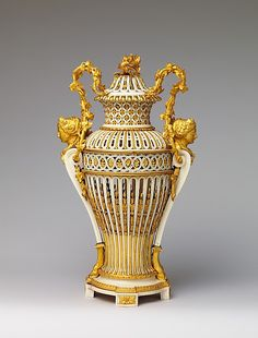 Vase with cover  Date: ca. 1780–90