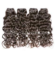 3 or 4 bundles Brazilian Natural Wave Virgin Human hair extensions