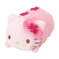 Hello Kitty SAKURA ❤ Mame Petit Plush Doll Mascot TSUM TSUM ❤ SANRIO Japan