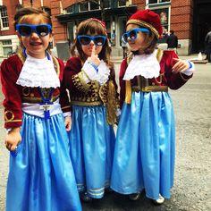 Cuties at the Greek Independence Day Parade #ZOOSGreekIcedTea #Greek #Herbal #Boston #OPAH
