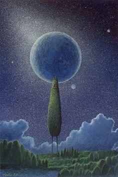 Pinzellades al món: Un bes a la lluna / Un beso a la luna / A kiss to the moon