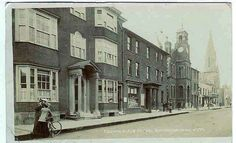 Brenchley House. Up until the 1950s this was the Girls Grammar School