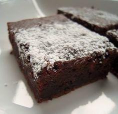 2 ingredient black bean brownie. sketchy....but apparently good