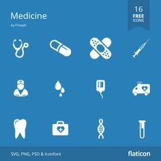 Medicine free icons in vector format for both personal commercial use. (License: CC BY Vector Icons, Vector Free, Free Icon Packs, Vector Format, Medical Prescription, Icon Font, Icon Design, Medicine, Packing