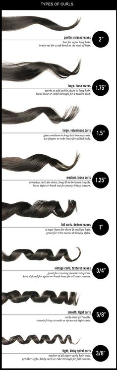 Types of Curls You Can Make With a Hair Curler #HairCurler