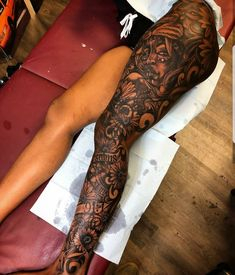 Mood t a t t o o Badass Tattoos, Girly Tattoos, Pretty Tattoos, Body Art Tattoos, Full Leg Tattoos, Full Sleeve Tattoos, Sleeve Tattoos For Women, Tattoo Women, Ankh Tattoo
