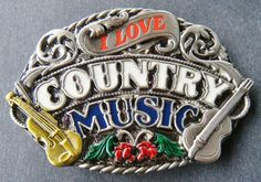LOVE COUNTRY SOUTHERN MUSIC SONGS SQUARE DANCES WESTERN BELT BUCKLE BUCKLES #CoolBuckles #ILOVECOUNTRYMUSIC #COUNTRYMUSIC #SQUAREDANCE #WESTERN #WESTERNBUCKLE #MUSICBUCKLE #BELTBUCKLE