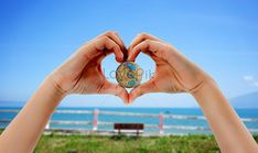 World travel day Travel day, holiday, seaside, love, earth, beach, sea, leisure