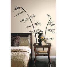 RoomMates 1603 Wandtattoo Bambus gezeichnet | eBay
