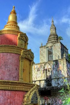 Wat Lanka . Phnom Penh, Cambodia