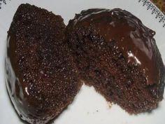 Receita Bolo de chocolate de liquidificador molhadinho