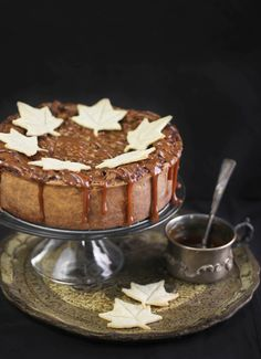 Bring the wow factor: Deep-Dish Pumpkin Pie with Dulce de Leche Walnut Streusel. #holiday baking