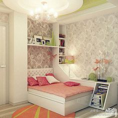 Epic Girls Bedroom Ideas For Small Rooms With Additional Inspiration Interior Home Design Ideas with Girls Bedroom Ideas For Small Rooms Teenage Girl Bedroom Designs, Teenage Room, Teenage Girl Bedrooms, Girls Bedroom, Bedroom Decor, Teen Rooms, Bedroom Furniture, Modern Bedroom, Stylish Bedroom