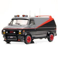 Hot Wheels Collector Elite A-Team Classic Van 1:43 Scale Die Cast by Mattel. $44.99