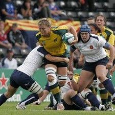 Aussie Debby Hodgkinson against France