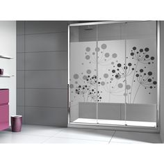 mamparas de vidrio - Buscar con Google                              … Living Room Decor Colors, Sliding Wardrobe Doors, Closet Doors Painted, Modern Tv Wall Units, Shower Doors, Window Glass Design, Door Glass Design, Glass Design, Bathroom Design