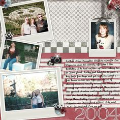 Digichick digital scrapbooking site with pages for sale