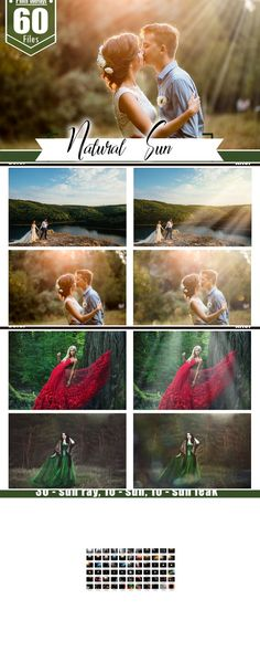 Photo Overlays - great for create you photo more interesting and beautiful. DESCRIPTION: 60 file in jpg format sun ray, 10 syn, 25 sun leak) The size of