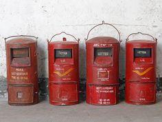 Vintage Red Railway LampBuy Vintage Red Railway Lamp Vintage Lanterns at Scaramanga Shop Storage, Cupboard Storage, Storage Cabinets, Display Cabinets, Cupboards, Vintage Furniture For Sale, Furniture Sale, Vintage Lamps, Vintage Lanterns