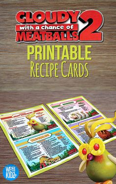 """Cloudy With a Chance of Meatballs 2 Brings You Some """"Foodimal"""" Inspired Recipes for you to Make With the Family!"""