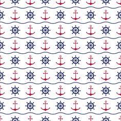 Seamless nautical pattern by Pakete on Creative Market Graphic Design Pattern, Graphic Patterns, Silk Screen T Shirts, Nautical Background, Nautical Compass, Nautical Pattern, Vintage Typography, Vintage Logos, Retro Logos