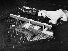 Takamasa Yoshizaka, Project for a Cultural Center, Leopoldville, Congo