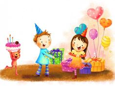 birthday gifts cake