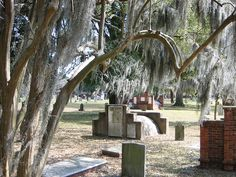 Yes - the haunted cemeteries are also a tourist destination in Savannah
