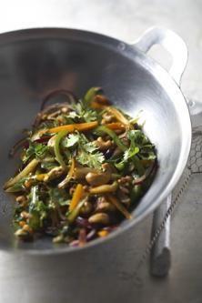 Légumes croquants et noix de cajou