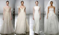 New York Bridal Week: The return of classic bride. Amsale, bridal collection spring-summer 2016