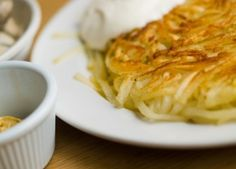 Rosti Potatoes - my husband just had these in Switzerland and can't stop talking about them.