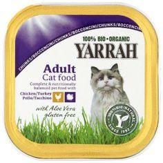 Yarrah Organic Chicken and Turkey Chunks Cat Food 100 g (Pack of 16) by Yarrah, http://www.amazon.co.uk/dp/B006FGSVYK/ref=cm_sw_r_pi_dp_1LCXsb0J45ES9