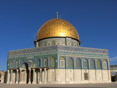 The Temple Mount, Israel. Photo by Guy Needham