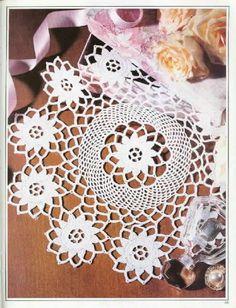 World crochet: Napkin 311