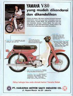 Yamaha V80, Yamaha Motorcycles, Vintage Motorcycles, Mini Motorbike, Bsa Motorcycle, Classic Motorcycle, Honda Cub, Old Advertisements, Retro Advertising