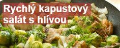 Rychlý kapustový salát s hlívou