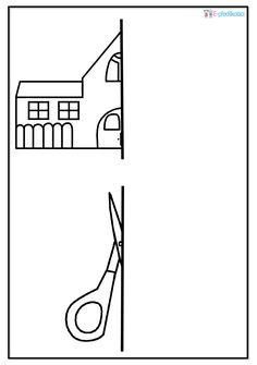Dokreslování obrázků - zápis do první třídy Kids Education, Early Education